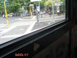 A6 on the bus by blossomoftea