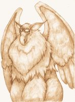 Fluffy Griffin is Fluffy by MistressCat