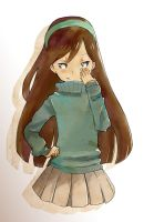 Evil Mabel by zhineart