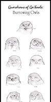 Burrowing Owls of Ga'hoole by Spectra-Sky