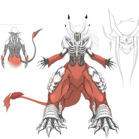 Cain Final Hell Form WIP by Arrancarfighter