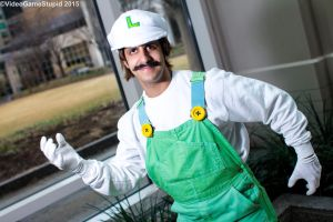 Anime Boston 2015 - Luigi Party(PS) 01 by VideoGameStupid