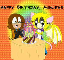 HAPPY BIRTHDAY, ASHLEA!! by FoaminianPriestess