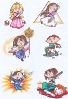 Stewie as Video Game Girls by Ai-Don