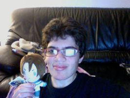 Me and My Lovino plush by giantstorylover