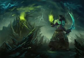 WoW - Xerioth by Omar-Atef