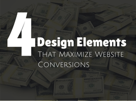 4 Elements of Web Design That Maximize Conversion by galaxyweblinks