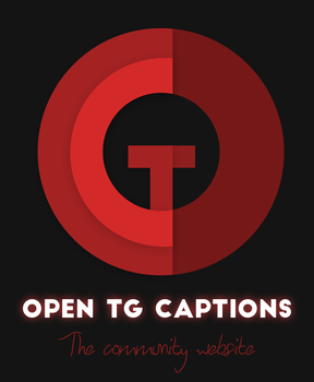 Open TG Captions - New logo by opentgcaptions