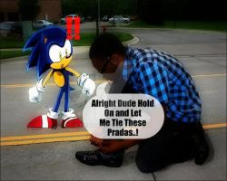 Me and Sonic by RichTate