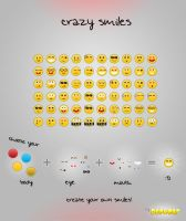 FREE Smileys PSD by BlueX-Design