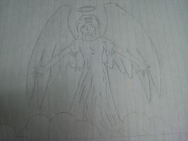 Seraph Drawing by Solonir