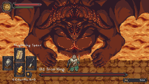 Dark Souls 2 Old Iron King Mockup by Zedotagger