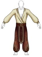 Costume design cloth -WIP by Phil-Monk