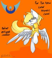 Solar Eclipse - For The New Lunar Republic Comic by scootaloocuteness
