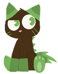 FREE Grass Cat Thingy Adopt by Branchpaw