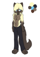 Julian full body ref by SleeplesslyDreaming