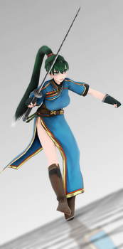 |MMD|Newcomer|FE7|  Lyndis - Lady of the Plains by UniTheNep