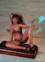 Roxy OOAK polymer clay sculpture by fairiesndreams