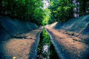 In the Gutter by CHabio