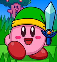 Sword Kirby by Kittykun123
