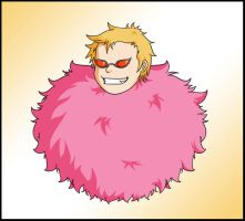 Doflamingo - Guard Point by Eriin84