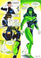 Maria Hill Hulk-Out - Manic by CycKath