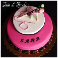 rhythmic gymnastic cake 3 by Dyda81