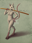 Ladies of the Chinese Zodiac - Rat by OllyChimera
