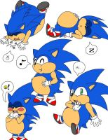 Chubby Sonic Poses by Broken-Hedgehog