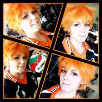 Cosplay Test ~ Hinata Shouyou by xSan-chi