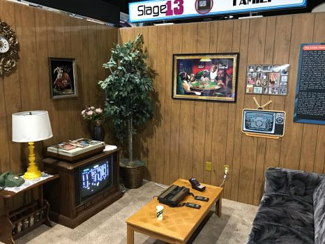 80s-style living room by WarioMan3K