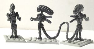 LEGO Aliens Alien by ARMORMAN