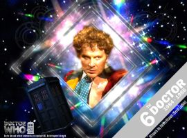 Doctor Who 50th Anniversary - The 6th Doctor by VortexVisuals