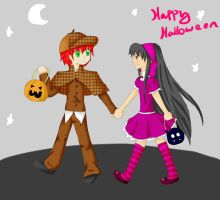 Happy Halloween by EllenorMererid