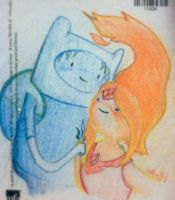 Finn And Flame Princess by VathayYaing