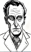 Peter Cushing by doctor-morbius
