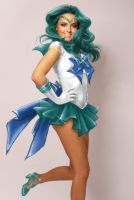 Sailor Neptune by Cat-with-dark-eyes