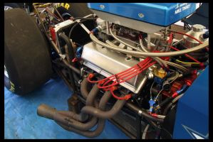 Dragster Engine by nitrolx