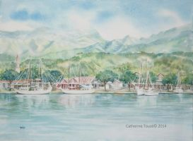 Port de Papeete by Papercolour
