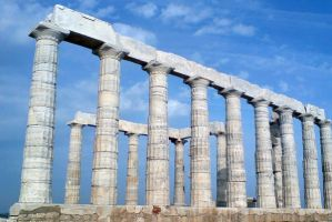 Temple of Poseidon by CASPeR3