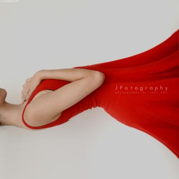 Red Calla Lily by JeanFan