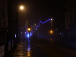 Exeter at Night: 1 by yaschaeffer