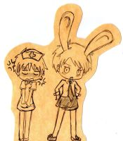 April Fool's Day Hetalia England and Prussia by Fantashii