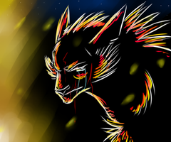 The Wolf by Rockfire1022