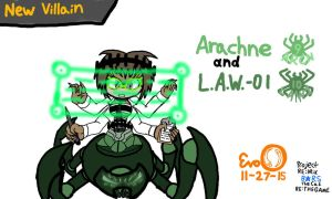 Project RE:Mix - Arachne and L.A.W.-01 (TG Update) by EvoDeus