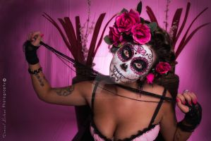 Star Sugar Skull Shoot by Daniel-Mcleod
