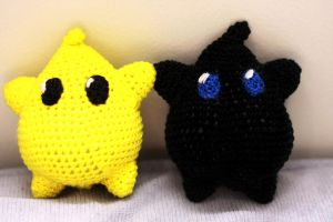 Super Mario Galaxy: Luma Dolls! by Nissie