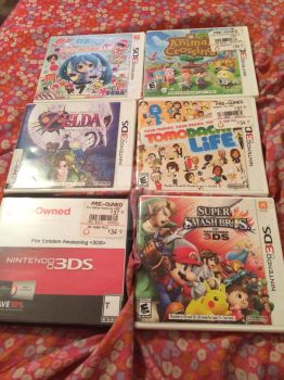 My Nintendo games by CoolKiddIce