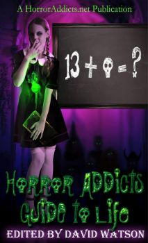 Horror Addicts - Guide to Life - BOOK COVER by MskyCarmen