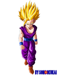Son Gohan =Teen=  SS2 by Krizeii